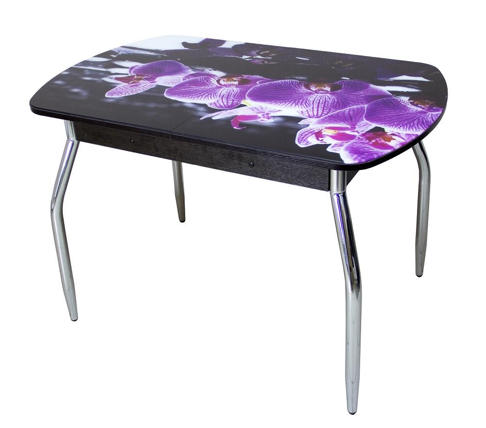 стеклянные столы для кухни с фотопечатью срезку, для оформления