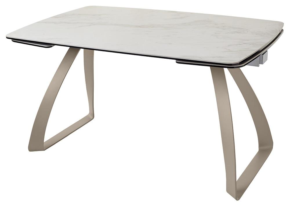 обеденный стол из стекла и керамики Mc 10727
