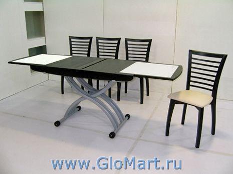 стол трансформер базенто купить в москве Glomartru
