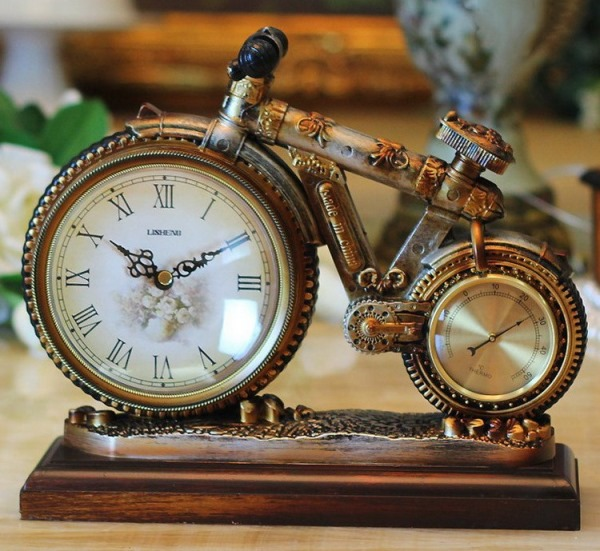 Настольные часы своими руками