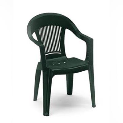 Дачное кресло из пластика