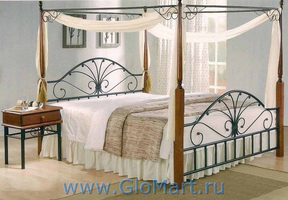 двуспальная кровать с балдахином Mt 30336138 купить в москве