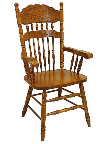 Кресло гобо деревянное резное для