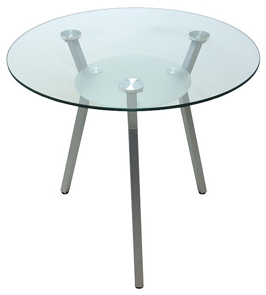 Круглый стеклянный стол для кухни AD-4675 - купить ...: http://www.glomart.ru/stoly/steklyannye/Kruglyj-stol-dlya-kuhni-AD-4675.htm