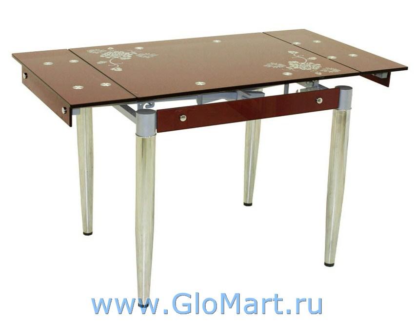 стеклянный стол для кухни фото раздвижной