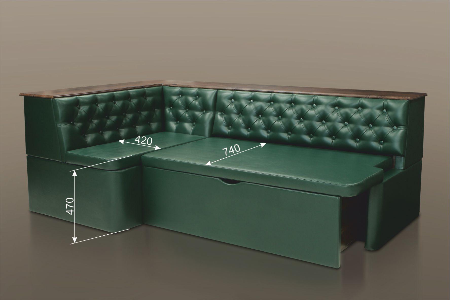 раскладной диван для кухни угловой Bm 2595 купить в москве Glomartru