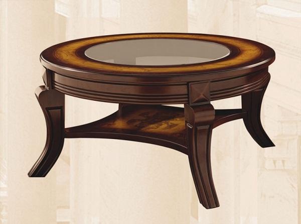 стол журнальный из дерева и стекла Av 3561hs T1123 купить в