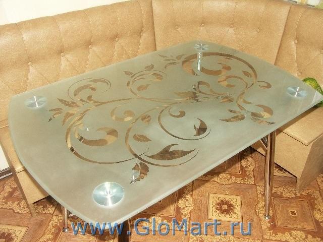 Столешница из стекла для стола своими руками
