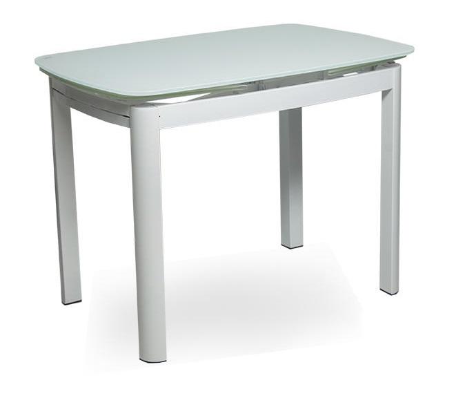 стол обеденный стеклянный овальный MT