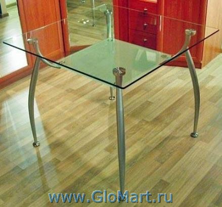 """Стол обеденный стеклянный """"эндр"""" - купить недорого в glomart."""