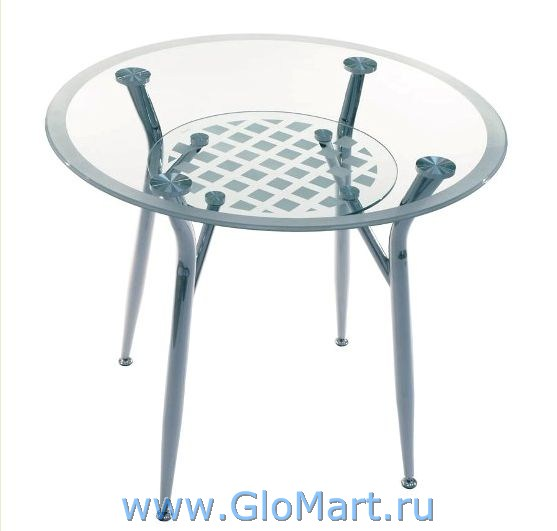 GloMart: Стол круглый из стекла ГМ-089
