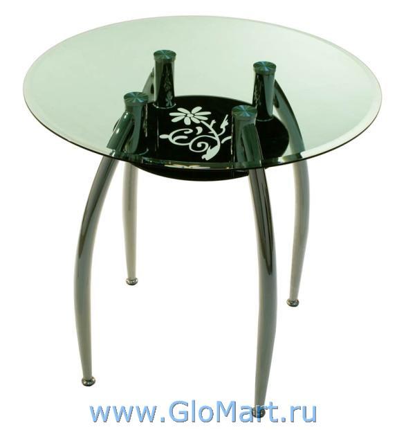 Круглый стеклянный стол ГМ-121 - купить