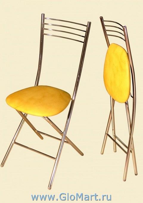 4211 / Стул арт. . 4211 (К/з слоновая кость). в Стулья.сайт. Складной стул на металлокаркасе