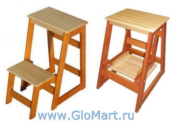 Деревянная стул стремянка своими руками