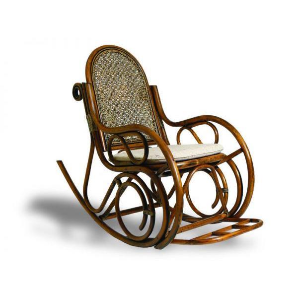 Кресло качалка из дерева размеры