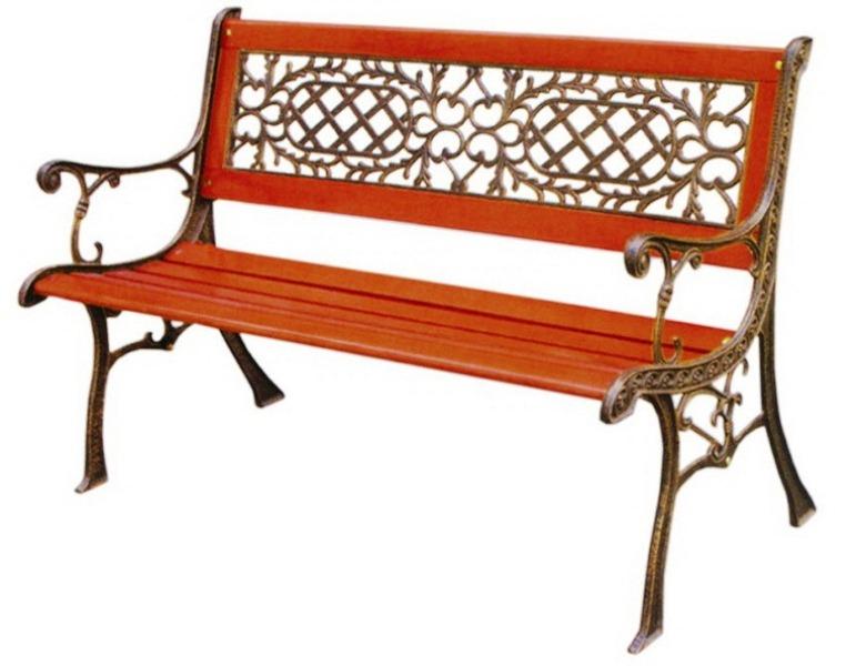 садовая парковая скамейка из чугуна Aw 5278