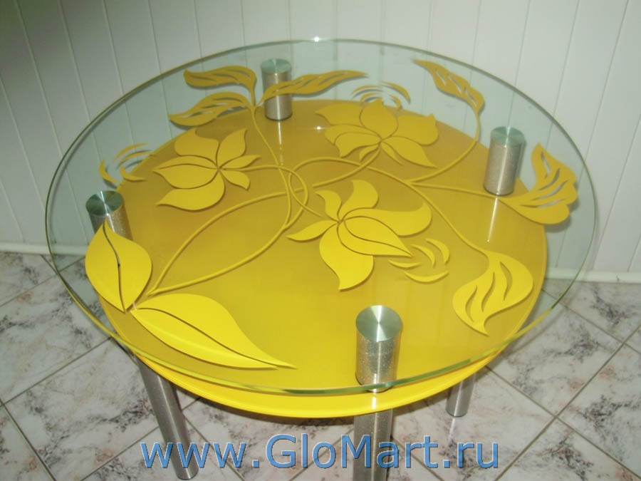 Купить круглый кухонный стол с