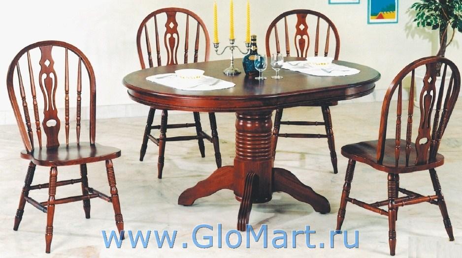 стол обеденный деревянный раскладной MK-920