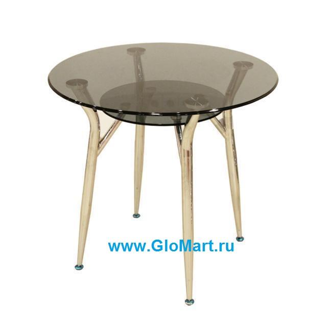 стеклянные столы с золотыми ножками фото данный