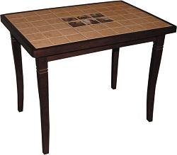 Маленький стол на кухню с плиткой