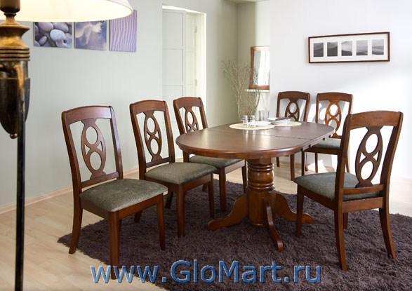 Стол обеденный деревянныйразмеры