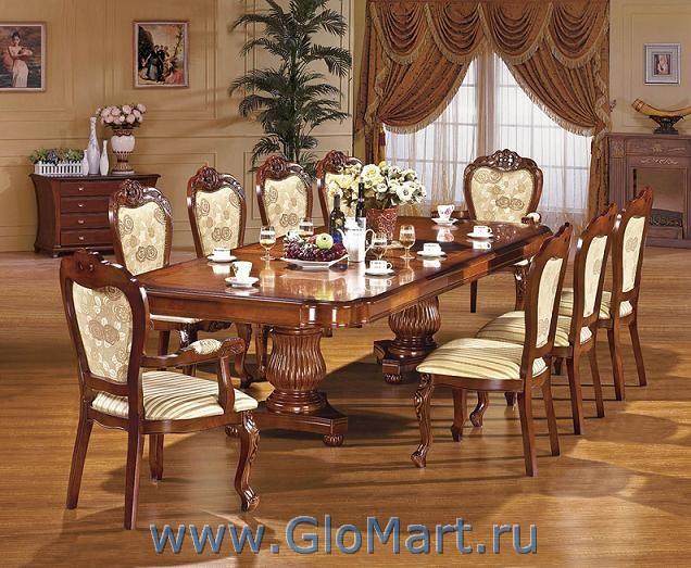 стол из массива для большой гостиной Mc 2058 купить в москве