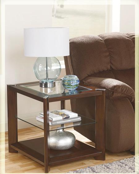 журнальный столик из дерева и стекла Sl 8168т682 3 купить в