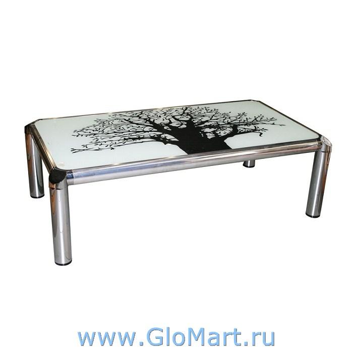 GloMart: Журнальный столик из стекла с