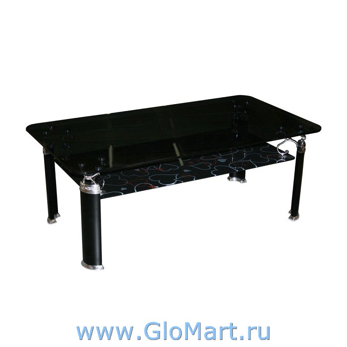 GloMart: Журнальный столик из черного